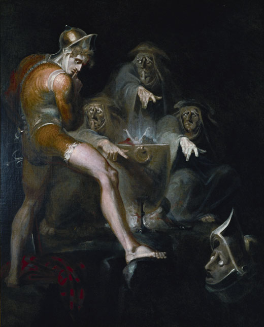 Macbeth consulting the Vision of the Armed Head