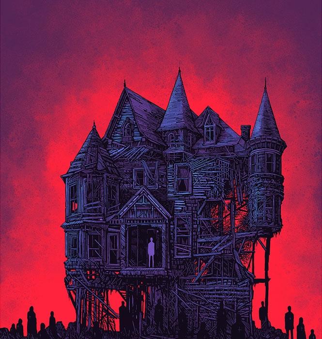 House of Usher (Poe) - Image: Daniel Dagnar - View https://www.shortstoryproject.com/